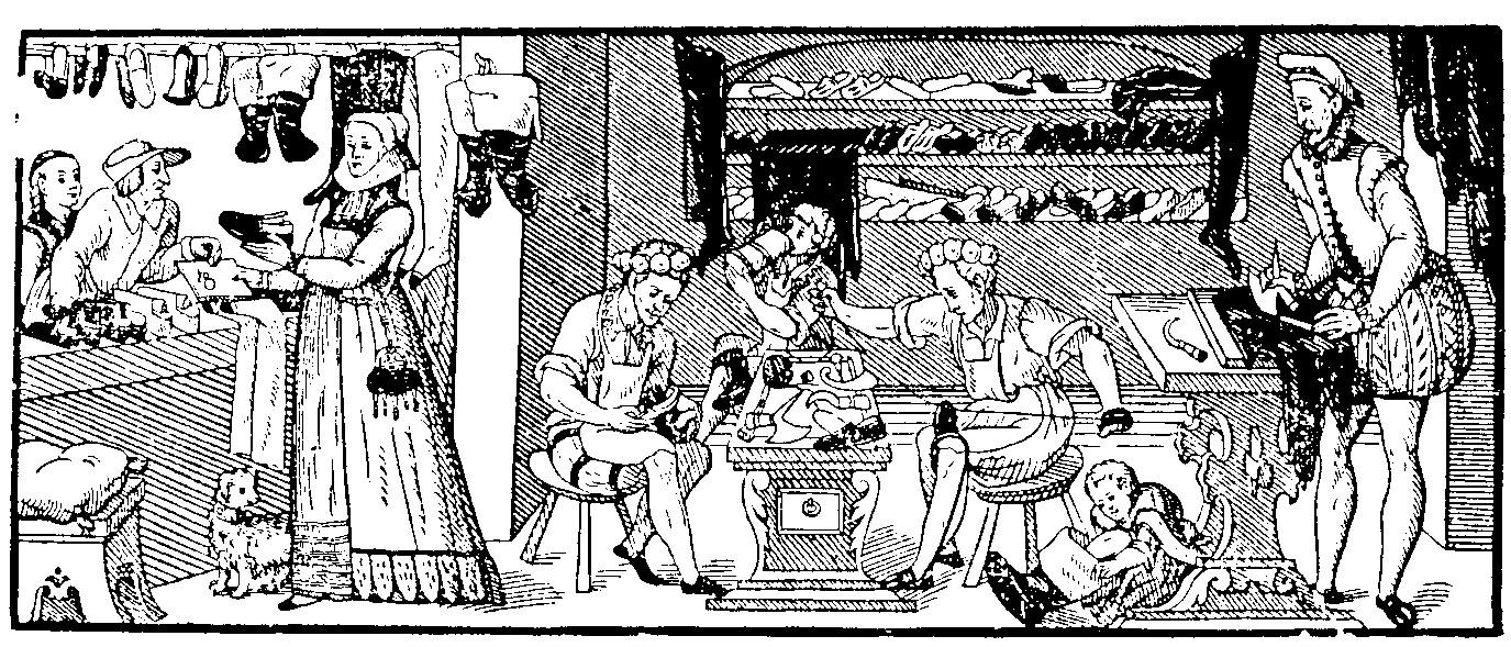 Schuhmacher shop 1570s