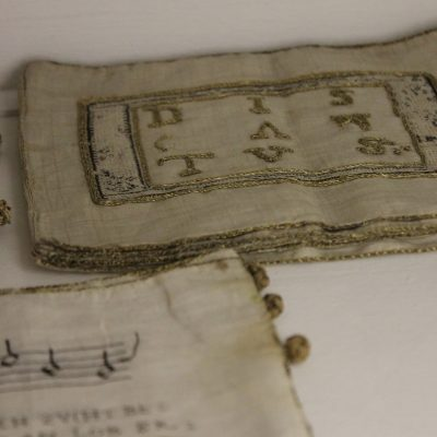 Advent 2020 Day 3: 16th century Embroidered Song Books