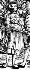 Trossfrau (Kampfrau) and Landsknecht
